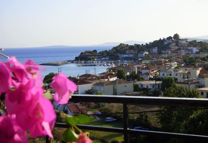 Studios with magnificent view/ 150m to the beach
