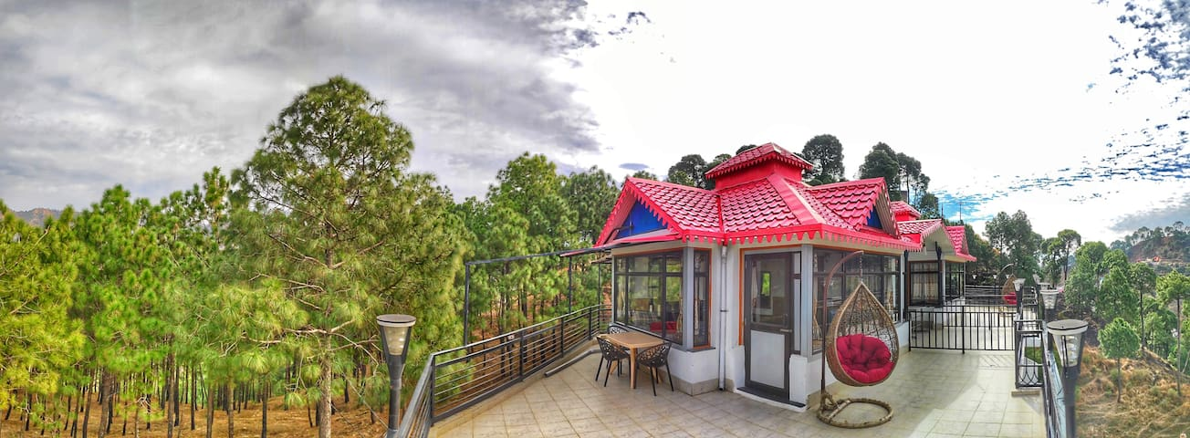 Cross Winds|Entire House(5Rooms)|BBQ |PVT. Terrace