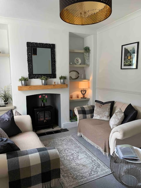 Romantic Millworkers Cottage Saltaire free parking