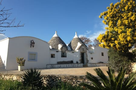 Trullo Oasi - beautiful stone house