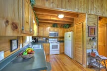Everything you need at this Blue Ridge Cabin Rental