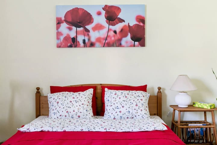 Poppy Flower Apartment
