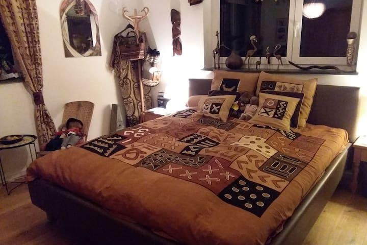 Ein Afrikazimmer im Schwabenland