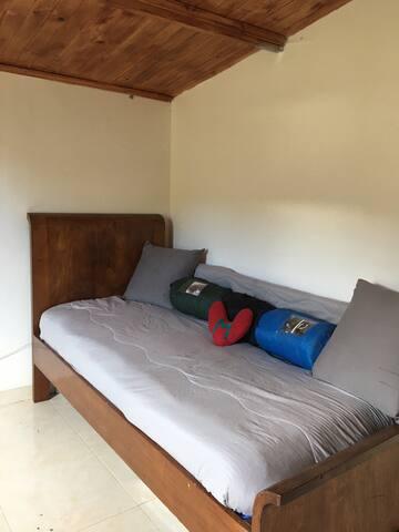 Habitación privada con baño en la montaña de Tabio