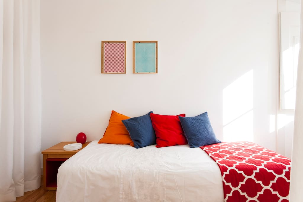 Quarto 2, cama  individual