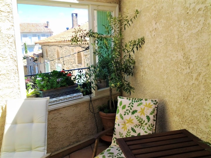 House with 2 bedrooms in Pouzols-Minervois, with furnished terrace and WiFi - 18 km from the beach