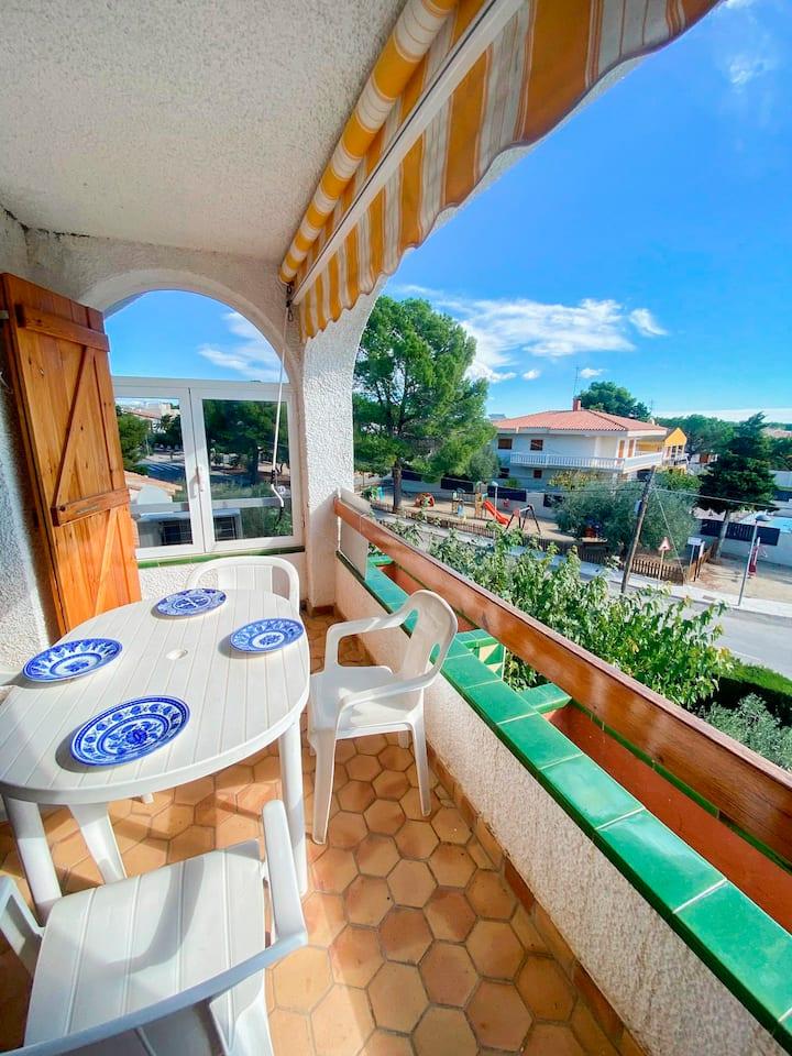 Apartamento con vistas a la playa de Cap-roig