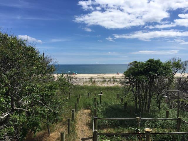 Ocean Front Davis Park Home