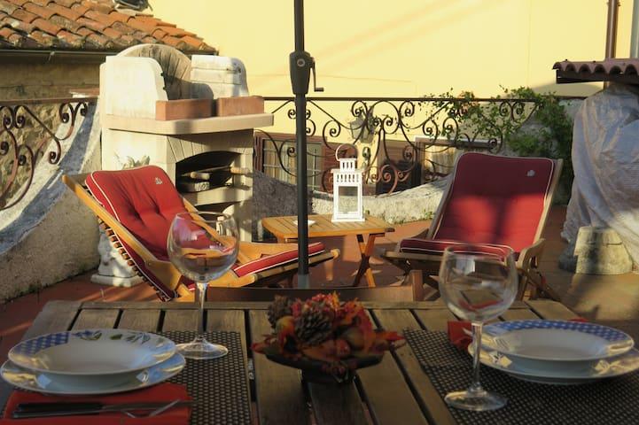 Relax in accogliente casa nel borgo di Pedona
