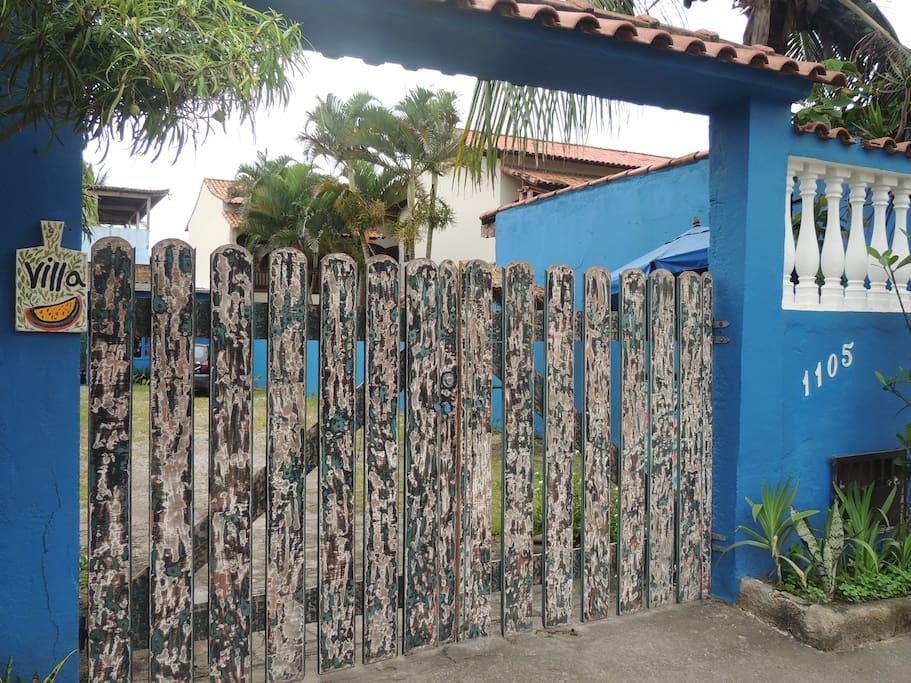 fachada da propriedade