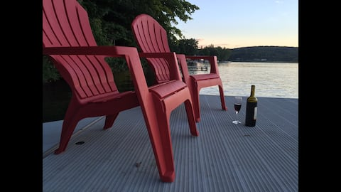 Summer Camp on Tuscarora Lake