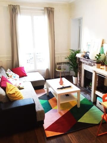 Cosy flat in the heart of Paris