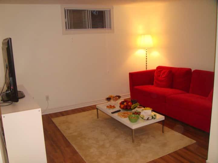 Beautiful renovated basement apartment