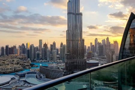 Full Burj Khalifa View 2 Bedroom - Pool& Gym open
