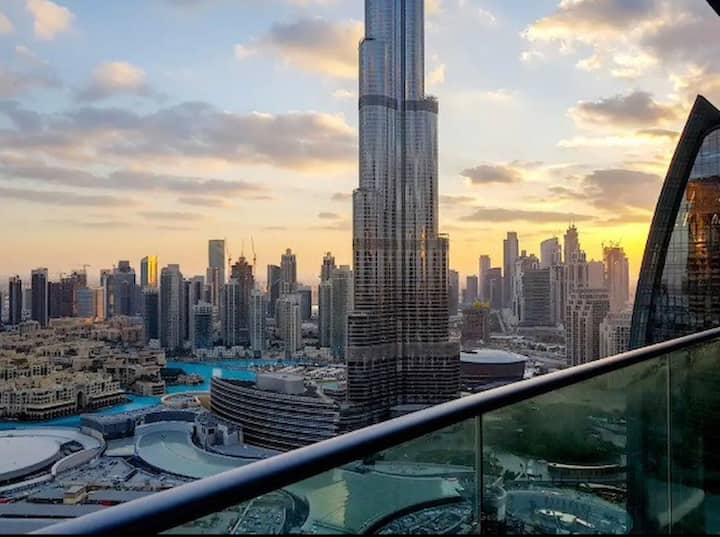 Luxury 05 stars  2 Bedroom with full Burj view