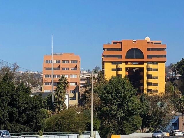 En el corazón de Tijuana. Donde se ven las mejores vistas.