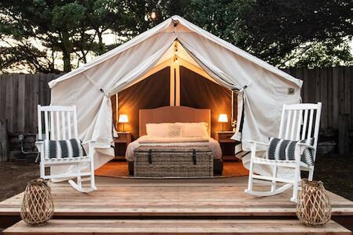 Beautiful Glamping Tent in Marina, Ca #5