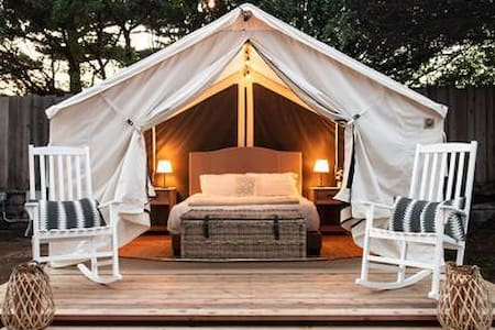 Beautiful Glamping Tent in Marina, Ca #5