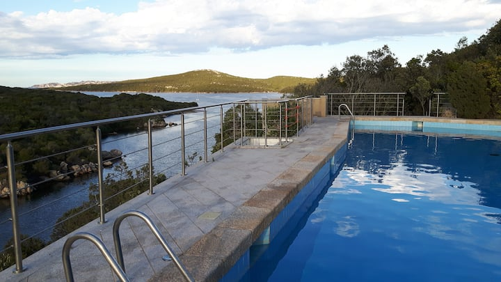 Guesthouse Sardinia  in private villa with pool
