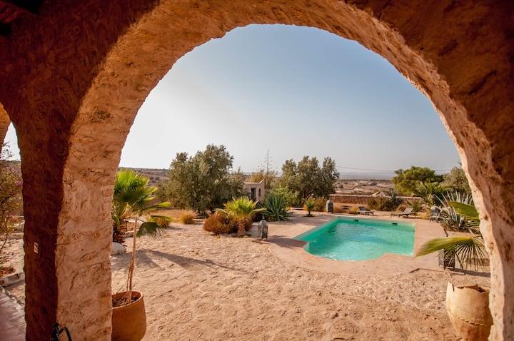 Typical House & Pool - Essaouira countryside