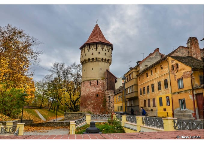 Stay in the most beautiful street of Sibiu-Cetatii