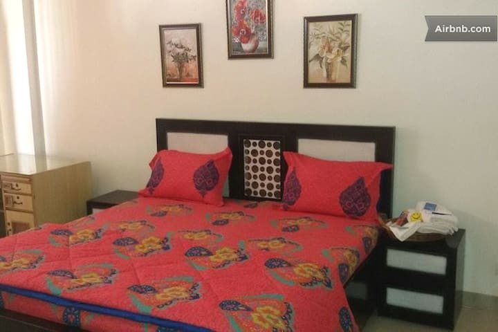 Spacious-Balcony Bed Room at 3BR Near Chandigarh