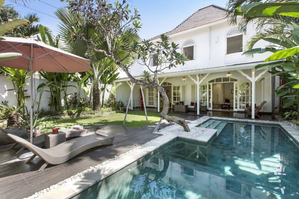 Bali beach villas for rent