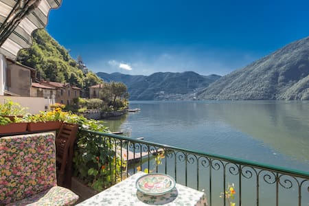 Waterfront Apartment with Beautiful Views - Valsolda - Διαμέρισμα