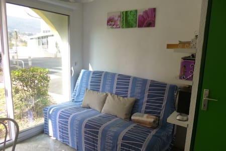 Studio avec parking  proche thermes - Lamalou-les-Bains