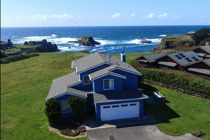 Location location, location! Oceanfront home with so many places to relax and enjoy the views!