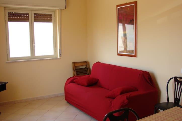 soggiorno divano letto