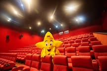 In the city mall you have 3 Cinestar cinema theatres