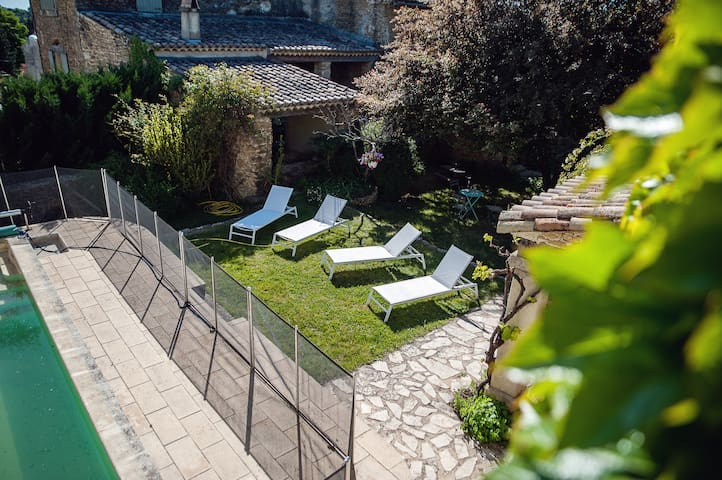 Maison de charme (26) - Piscine privée & Chauffée - Grignan - Dom