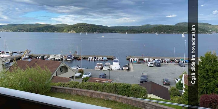 Nice apartment with seaview in Brevik