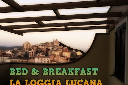 "Bed and Breakfast ""La Loggia Lucana"" Panoramico - Grassano - Haus"