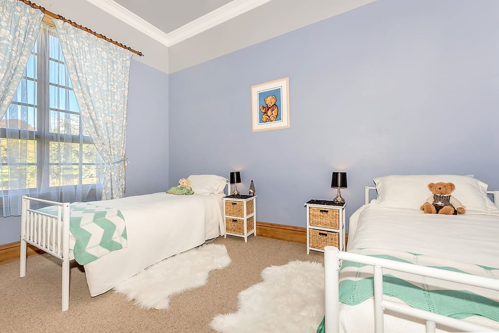 Willow Room. Large twin single room, available on request.