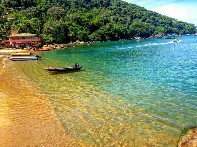 Ubatuba Picinguaba Acesso a Ilha das Couves