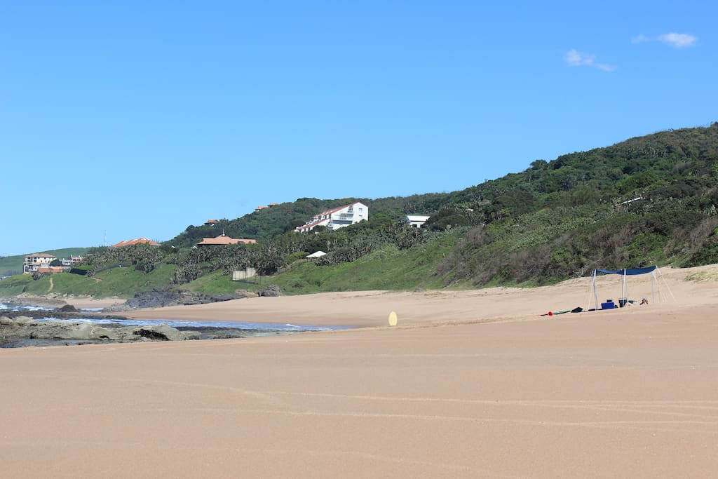This beach is as private as you will get anywhere in South Africa.