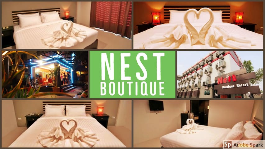 Nest Boutique - Double Room(Free Airport Transfer)