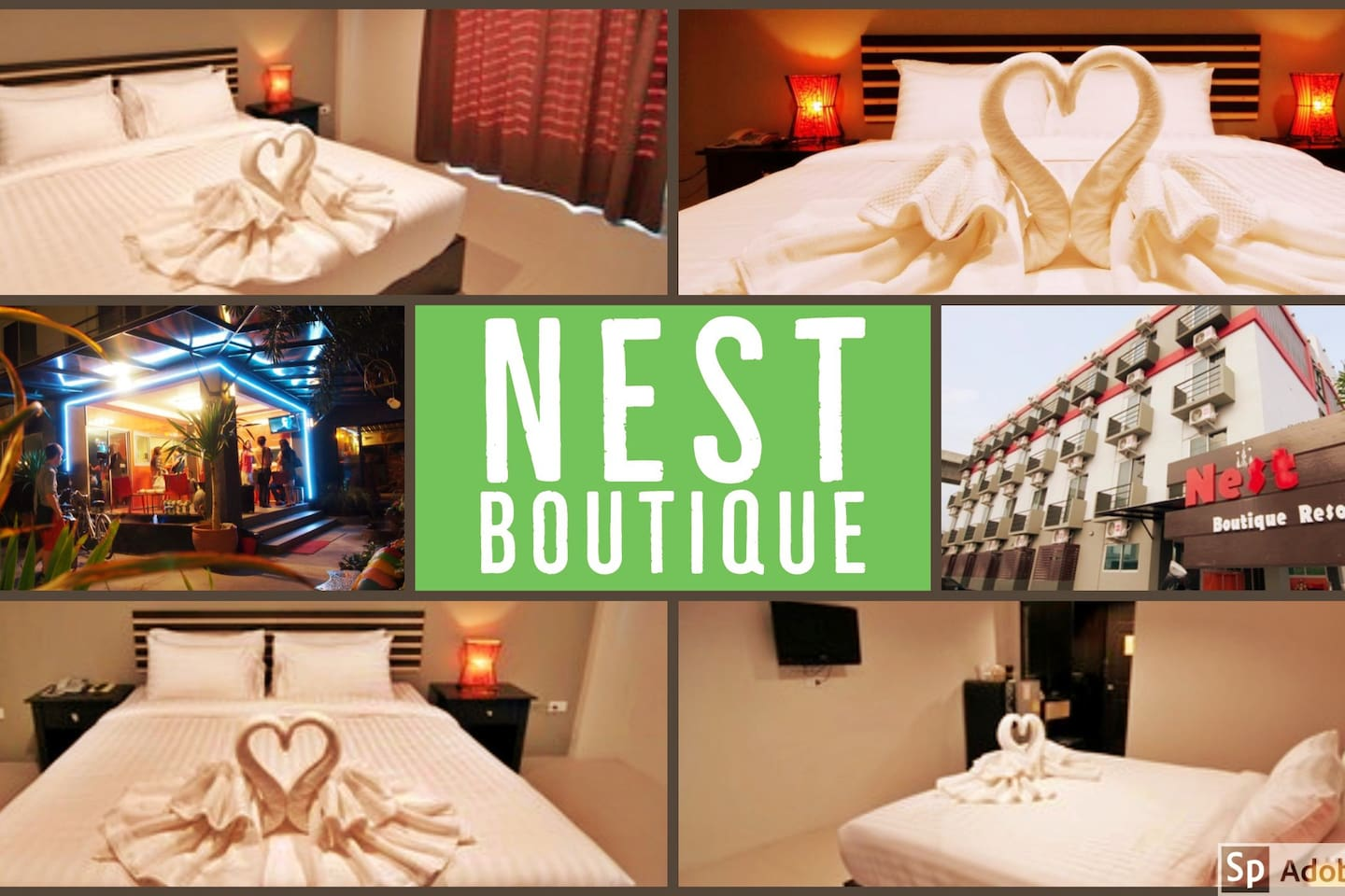 Nest Boutique @BKK Airport  Double Room (2 adults) 1 Double Bed or 2 Single Bed