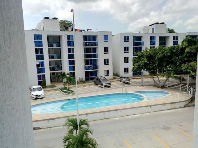 Apartamento en conjunto residencial cerrado