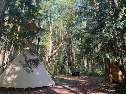 The Blyn Woods Tipi Retreat