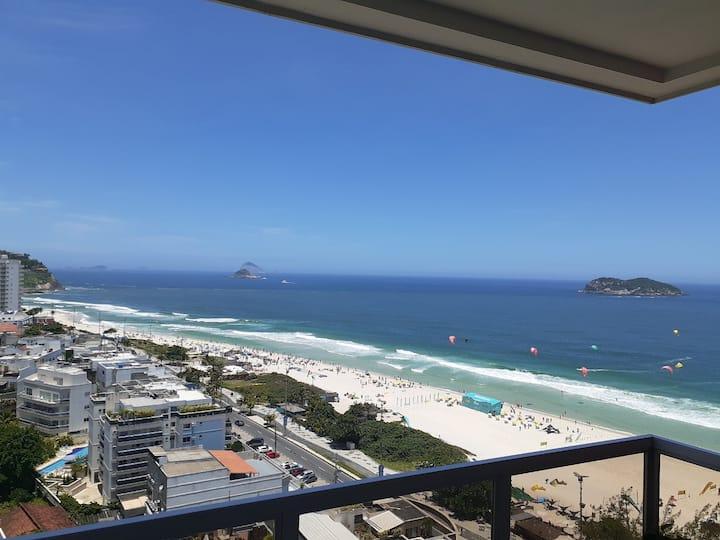 Flat- Vista para o mar da Barra da Tijuca - Rio RJ