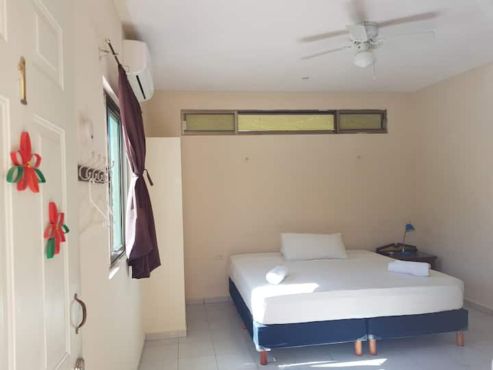Double room in Akumal village