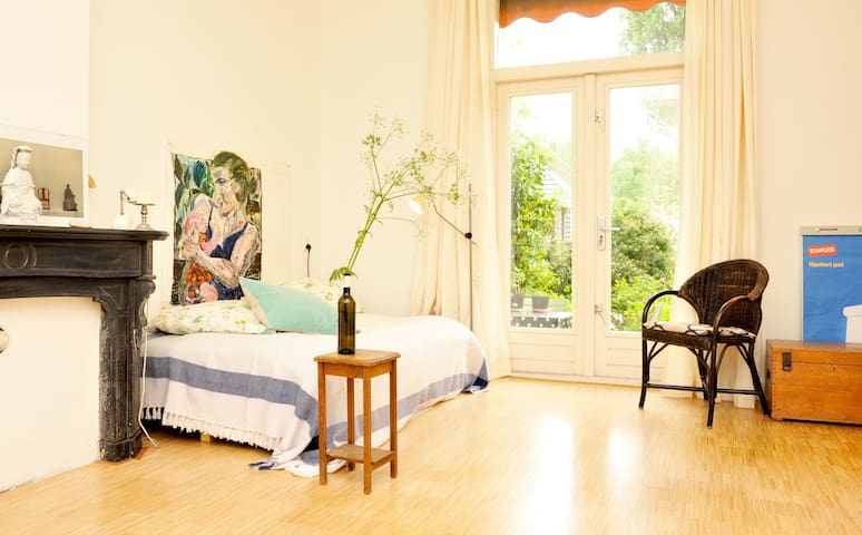 Room in dyke house + free parking - Amsterdam - Rumah