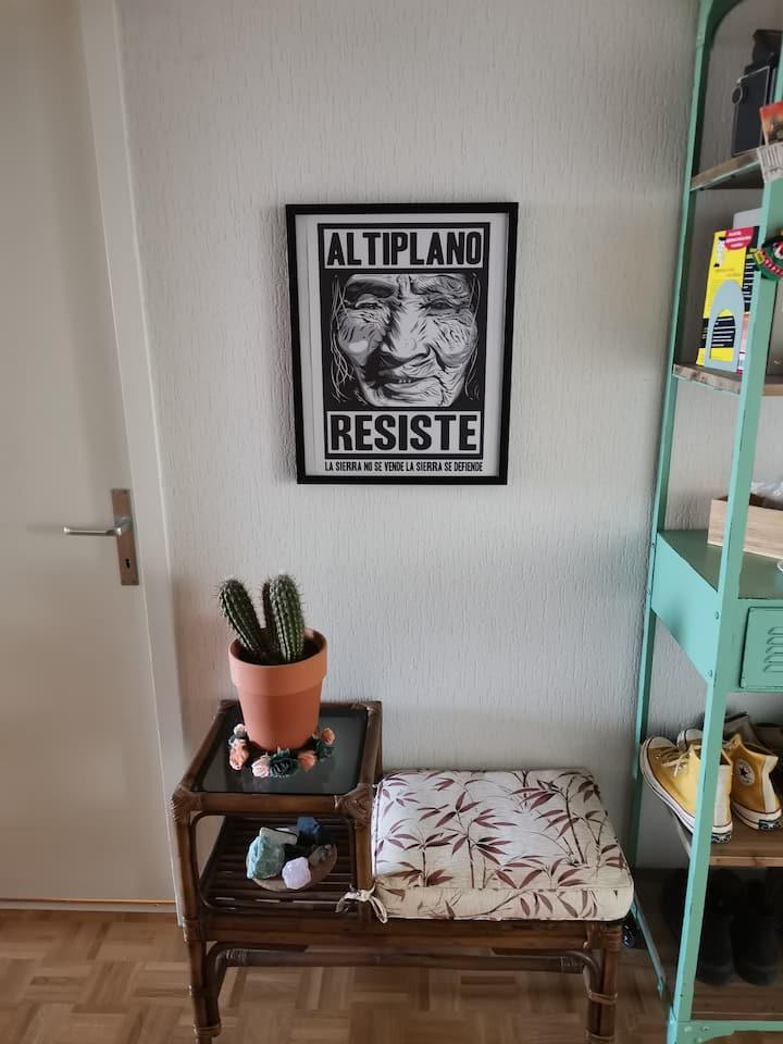 Un appartement au porte de la nature