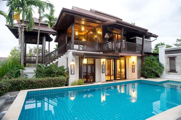 Sclass Villa & Swimming pool , 10 min from airport