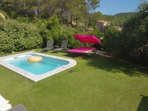 Maison moderne entièrement climatisé piscine privé