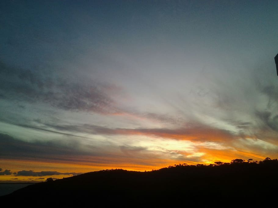 Beautiful sunsets at Okoka Sky