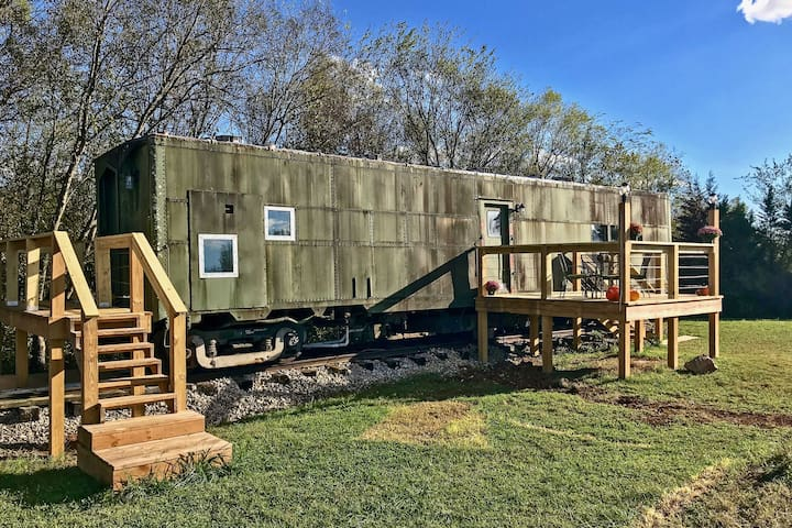 NEW! 'Platform1346' WWII Train Car in Maryville!